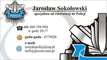 testy wiedzy policja